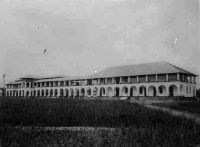 Douala, l'hôpital européen.