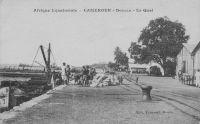 Douala, le quai