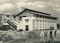 Edéa, l'usine hydroélectrique - années 1950.