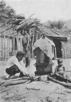 Préparation de l'huile de palme