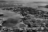 Abidjan, vue aérienne de la Presqu'Île