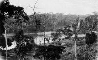 Côte d'Ivoire, bords de la Lagune – Carte postée en 1925 vers le Gers