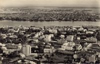 Abidjan, vue aérienne
