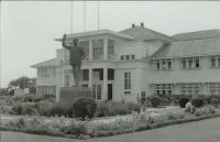Accra, Ghana's Parliament House, about 1960