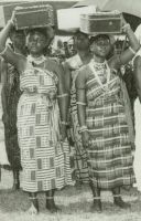 Ashanti durbar young women, 1960