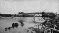 Moa River Bridge, Sierra Leone - Carte postée de Lagos, Nigeria, en 1919.