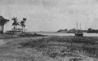 Conakry, rade sur la corniche
