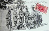 Haute Guinée, chasseurs d'éléphants
