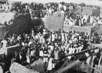 Enterrement au pays Lobi - début des années 1930  - A propos de cette photo :