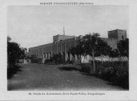Ouagadougou, le palais du gouverneur de la Haute Volta