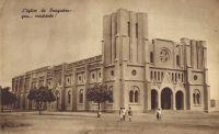 Ouagadougou, la cathédrale vers 1938