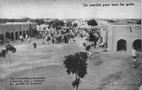 Ouagadougou, le marché vers 1938