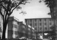 Ouagadougou, l'hôtel Indépendance en 1963