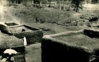 Bobo-Dioulasso, le quartier indigène - Vue sur les toits, vers 1950.