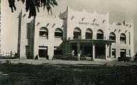 Ouagadougou, le Buffet-hotel, vers 1950