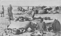 Fort Lamy, un marché sur les bords du Chari