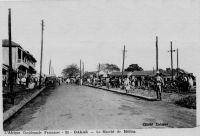 Dakar, le marché de Médina
