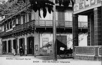 Dakar, Hôtel des Postes et Télégraphes - écrite en 1918