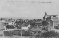 Dakar; vue prise de l'hôpital