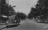 Dakar, l'avenue Maginot - écrite et postée le 01.04.48