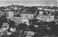 Dakar, vue générale du building