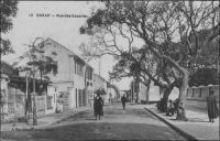 Dakar, rue des Essarts
