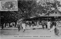Dakar, place du marché