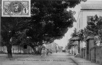 Dakar, la place Protet - postée en 1911