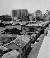 Dakar, la rue Félix-Faure vers 1955