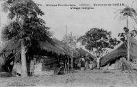 Environs de Dakar, village indigène