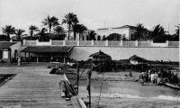 Île de Gorée, près de Dakar, la terrasse.
