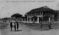 Dakar, boulevard National et casernes des Madeleines