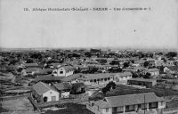 Dakar, vue d'ensemble n°1