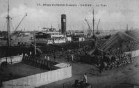 Dakar, le port