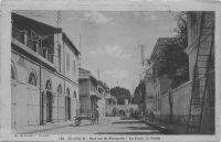 Saint-Louis, rue de la Mosquée, au fond la Poste