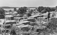 Bamako et environs - Cases en terrasses à Koulikoro
