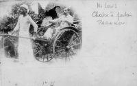 Parakou, M. Louis, chaise à porter (mention manuscrite)